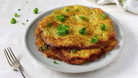 czech bramboráky - potato pancakes