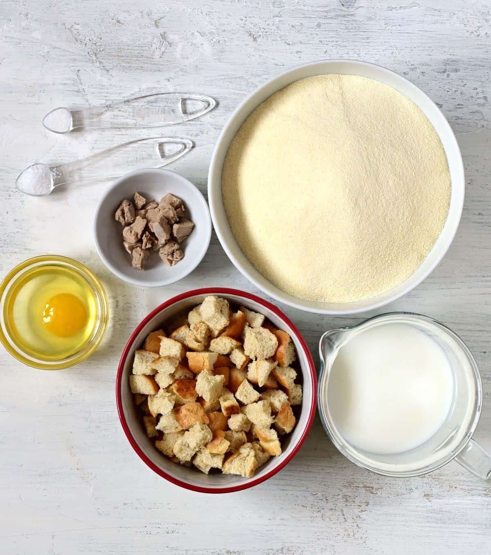 bread dumplings ingredients