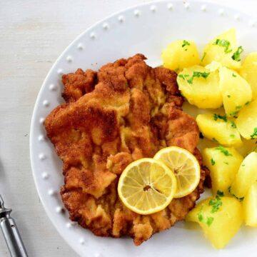 Weinersnitchel wiener schnitzel vídeňský řízek