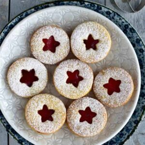Czech linecké linzer christmas cookies recipe