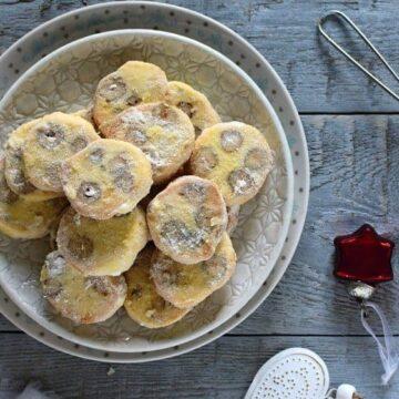 Czech Christmas Cookies Masarykovo cukroví