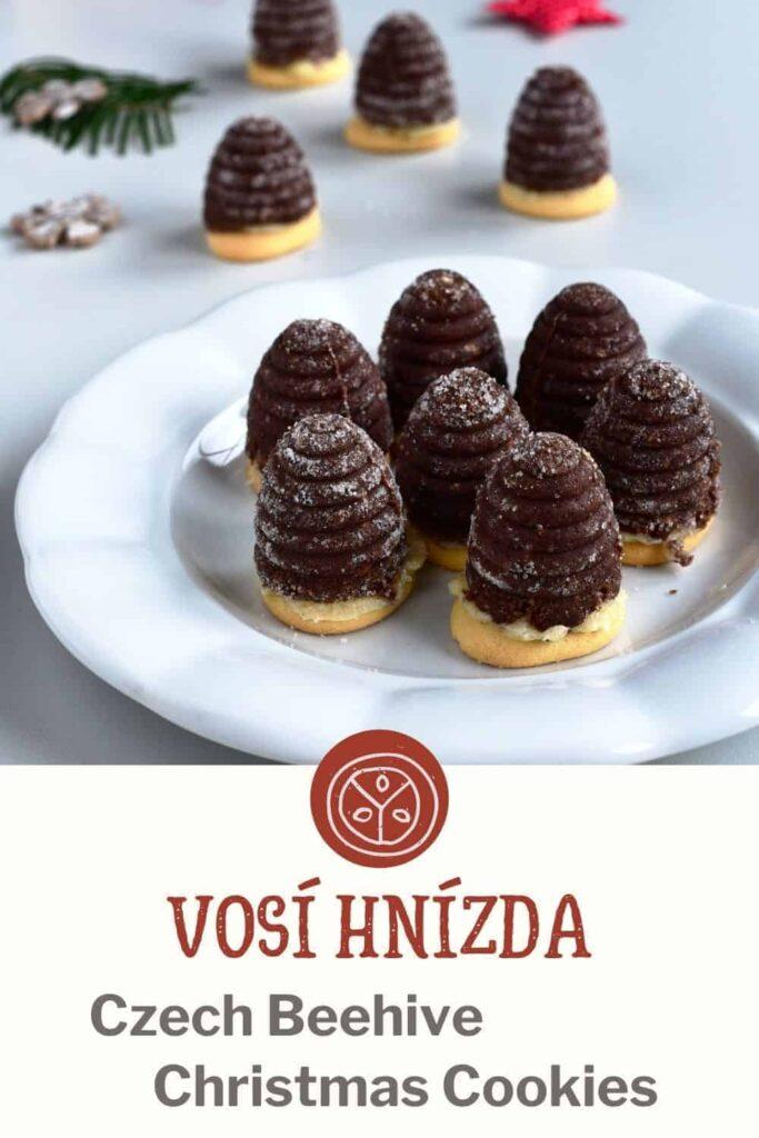 Czech Beehive Christmas Cookies recipe