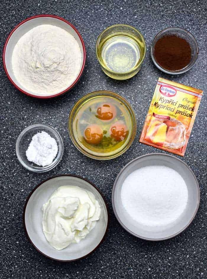 bábovka ingredients