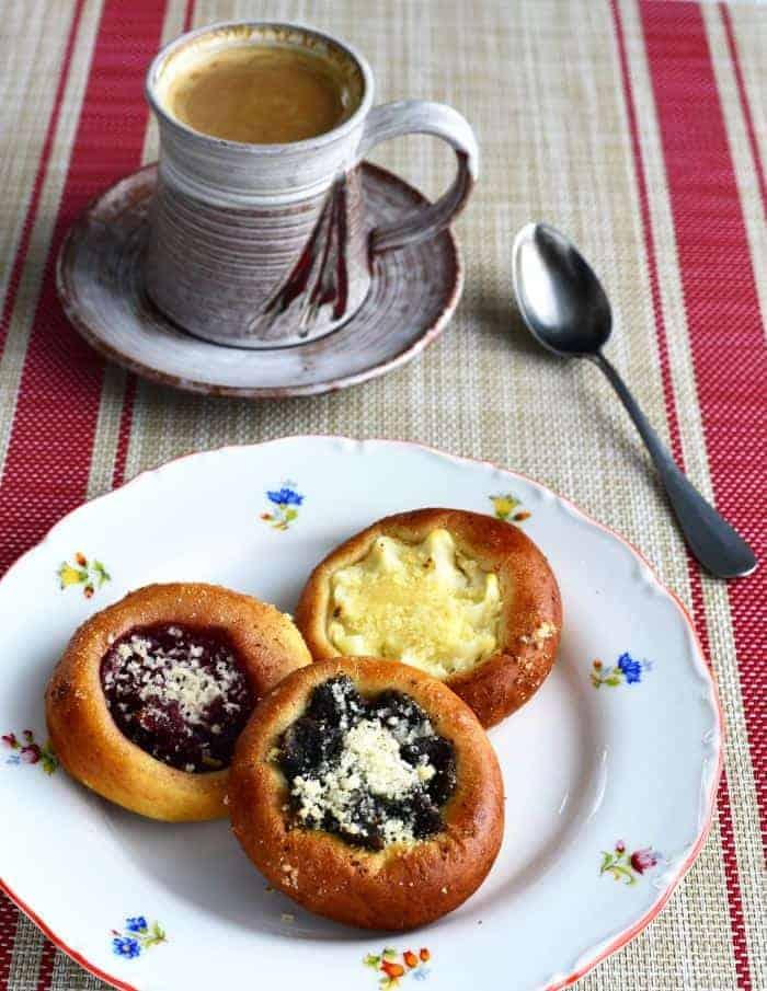 typical czech breakfast snídaně