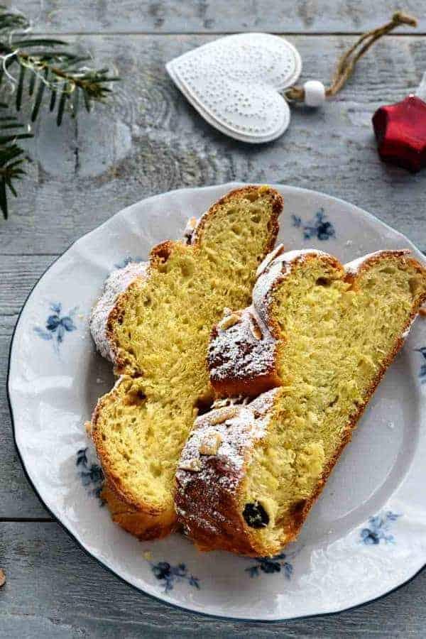 czech vánočka christmas bread