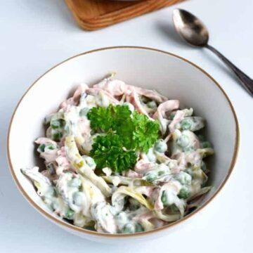 czech pochoutkovy salat salad with mayo recipe