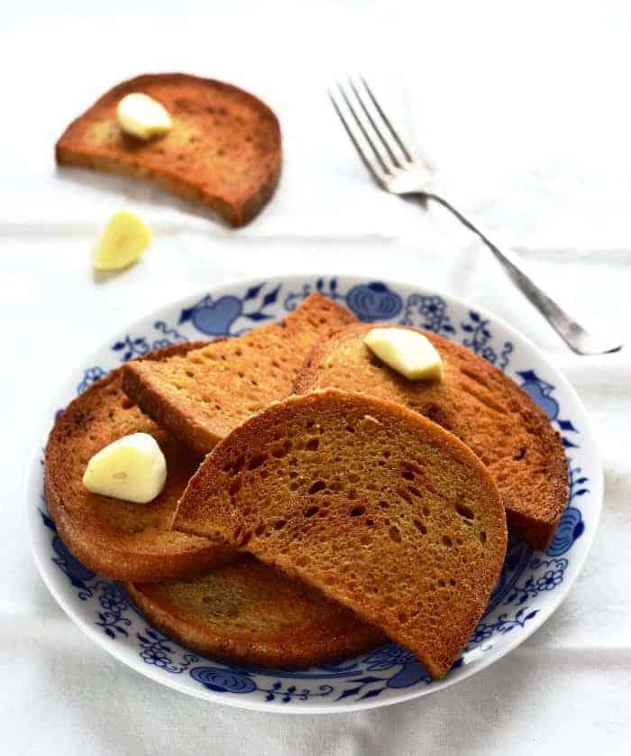 czech topinka fried bread