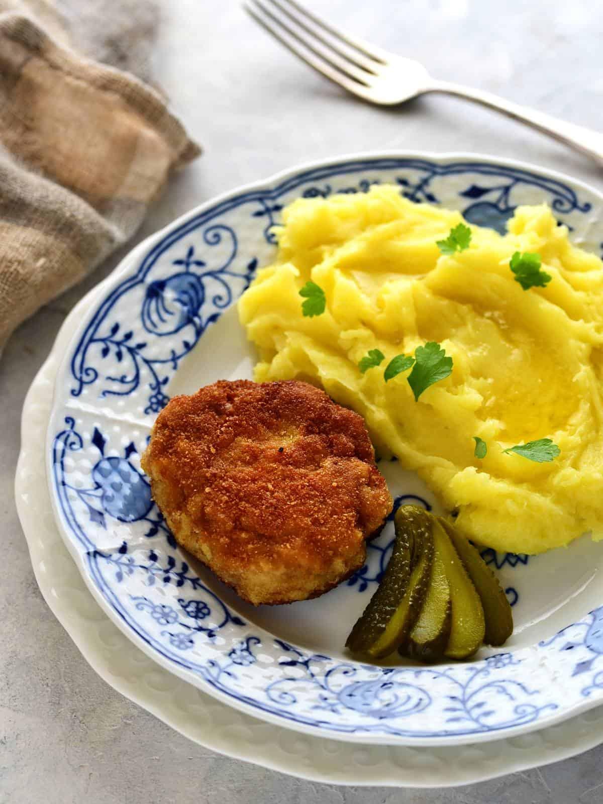 Czech holandský řízek, dutch holland schnitzel