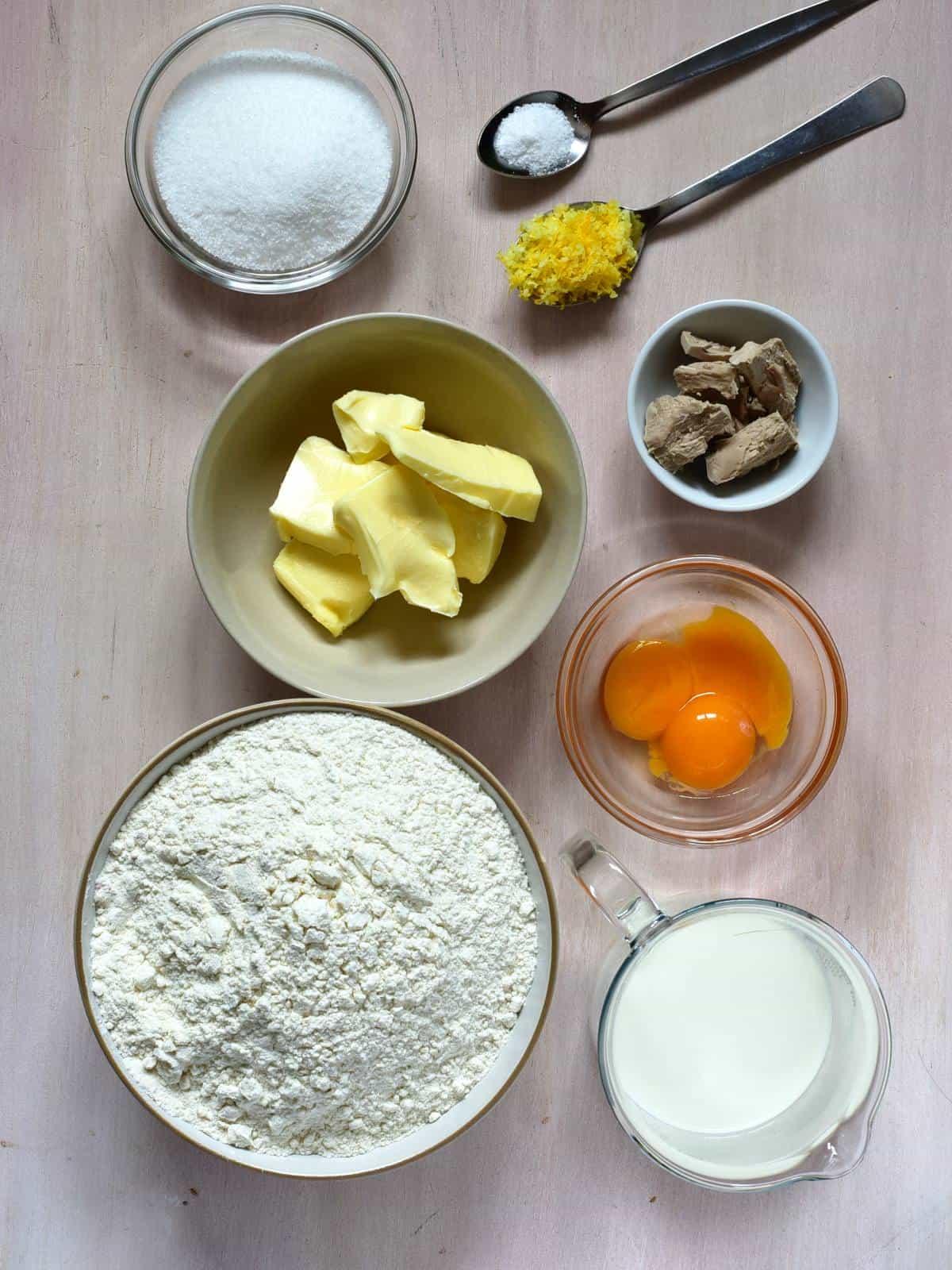 yeast doug ingredients