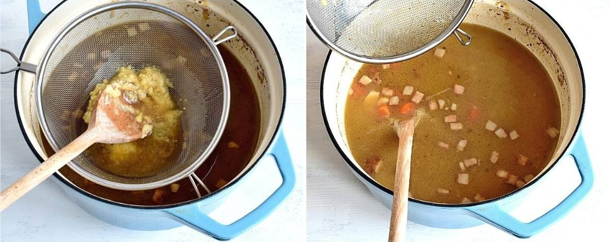 thickening with roux