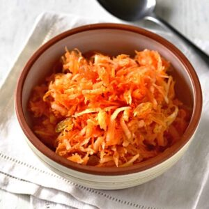 apple carrot salad mrkvový salát recipe