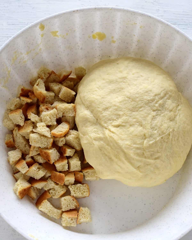 yeast dough bread dumplings