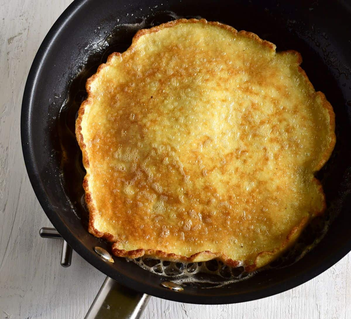 bread crumbs omelet smaženka
