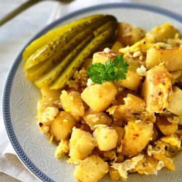 knedlíky s vejci recipe