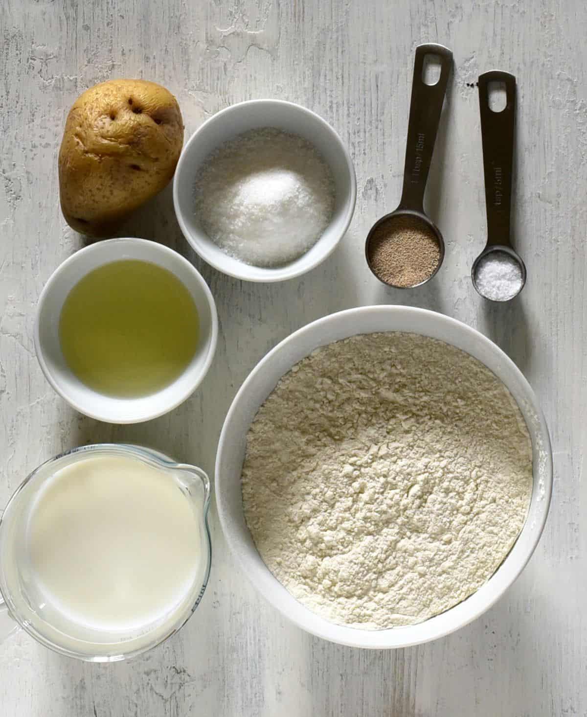 langos ingredients