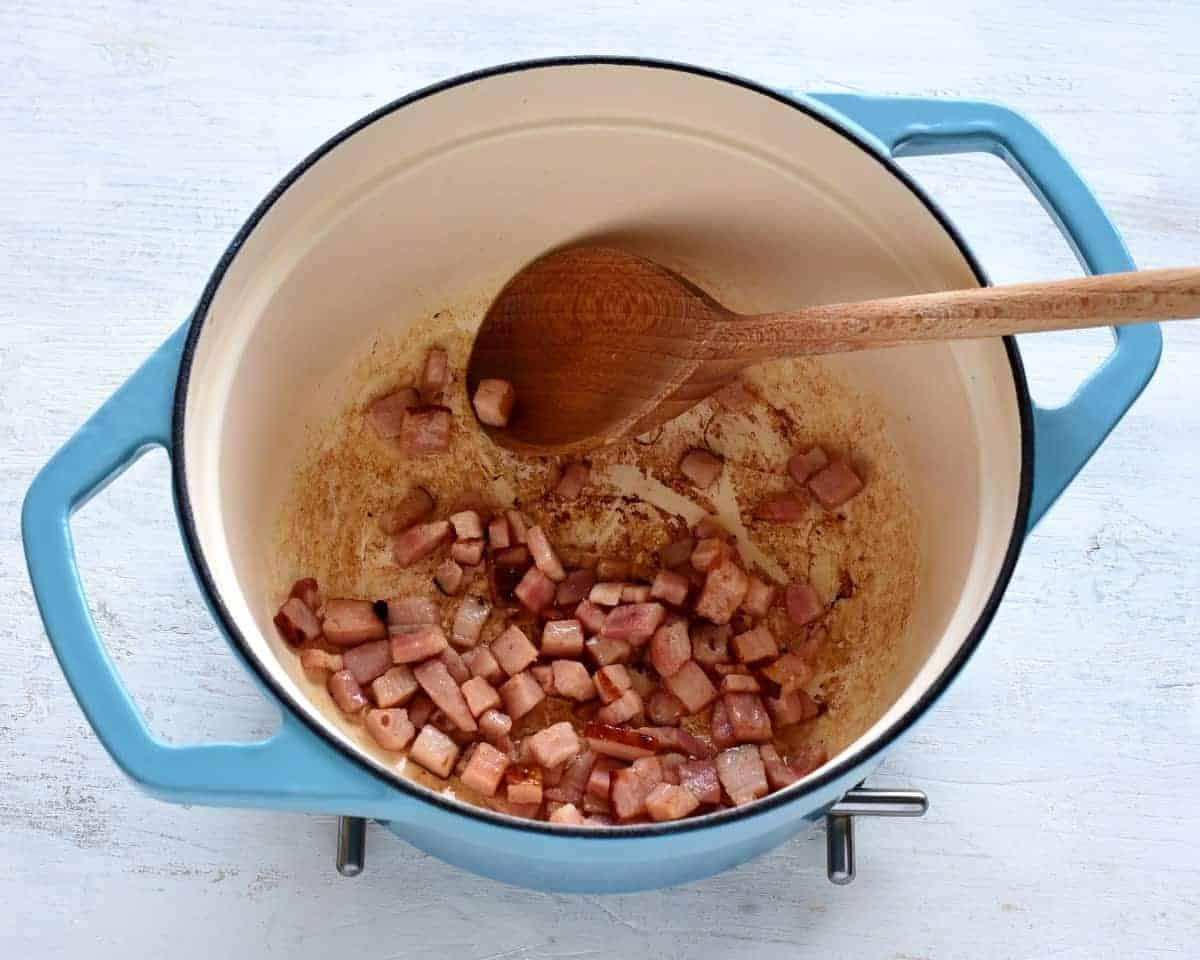 rendering bacon