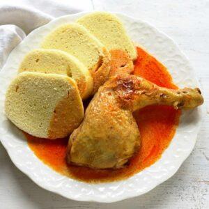 chicken paprikash czech kuře na paprice
