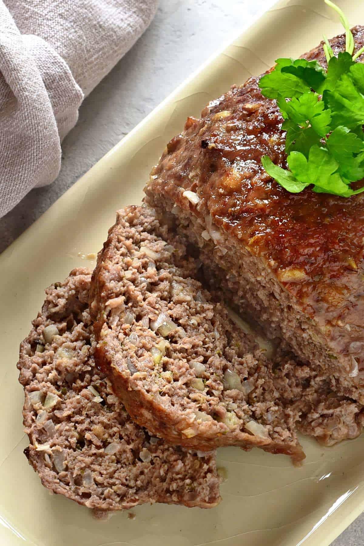czech sekaná meatloaf