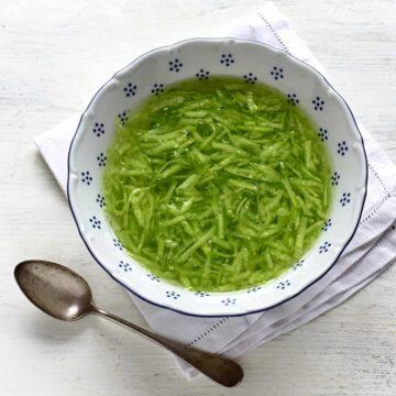 czech cucumber salad recipe