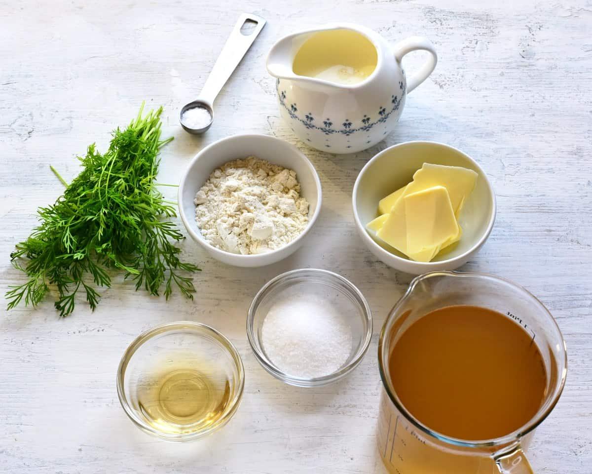 koprova omacka ingredients