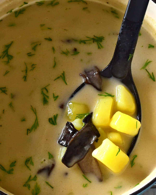 kulajda soup