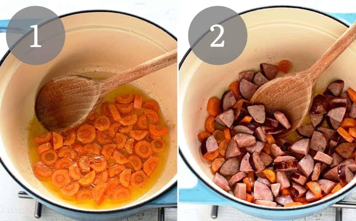 prep lentil soup