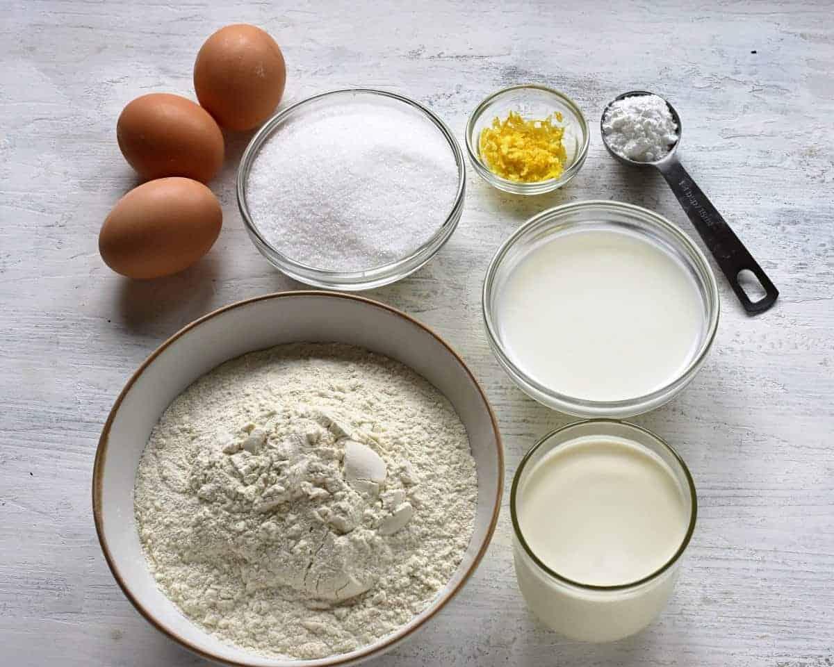 streusel cake ingredients