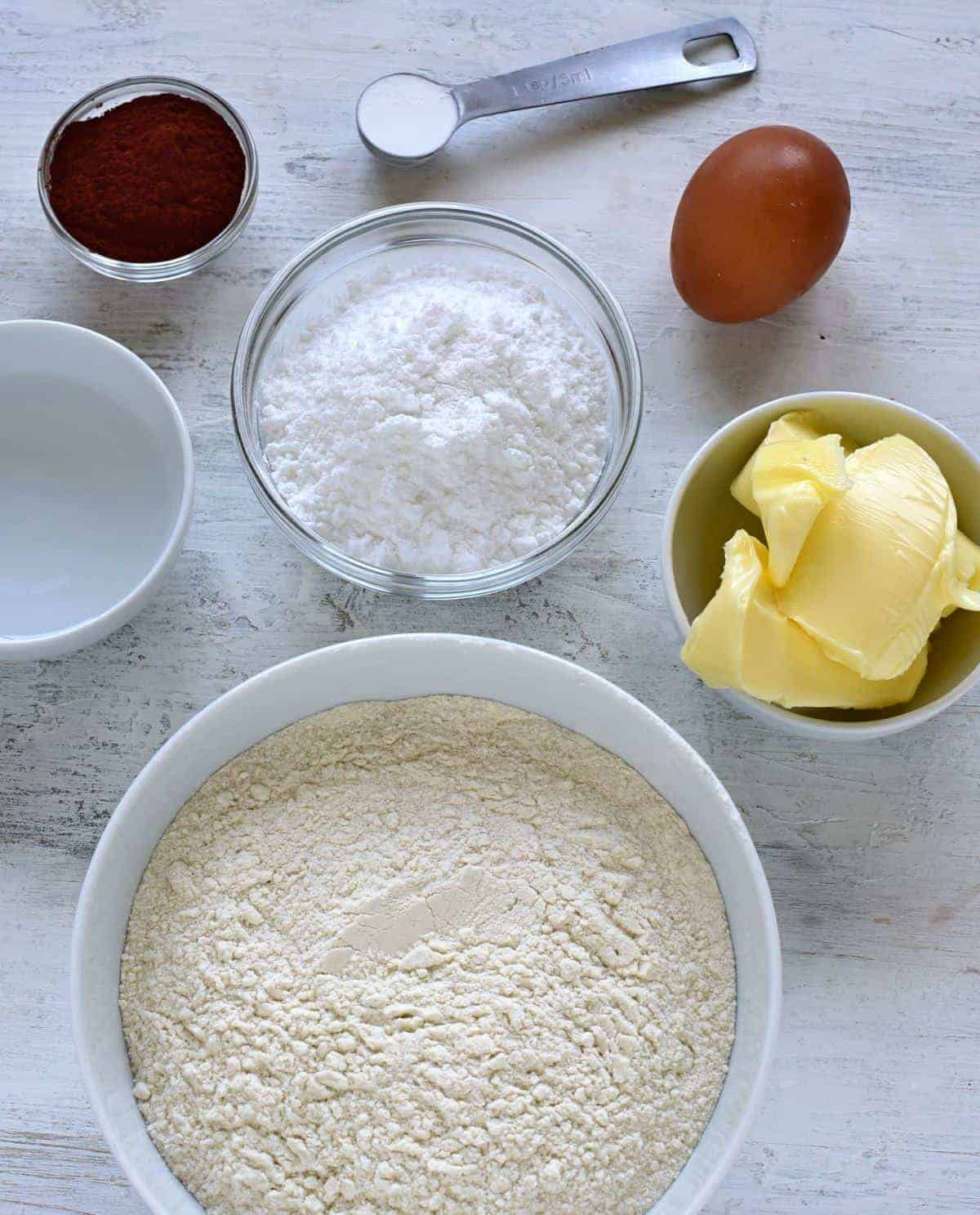 cocoa pastry ingredients