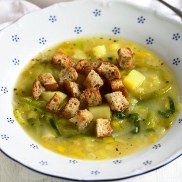 leek potato soup czech porková polevka recipe