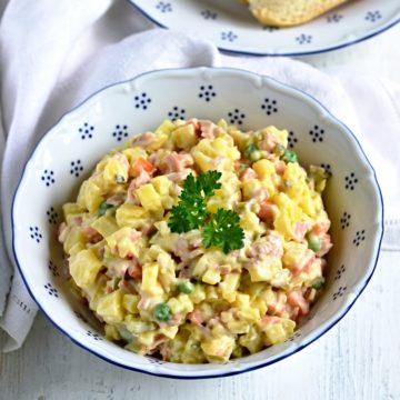vlašský salát recipe