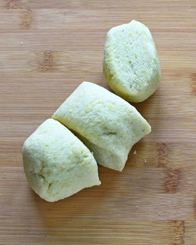lokse potato dough