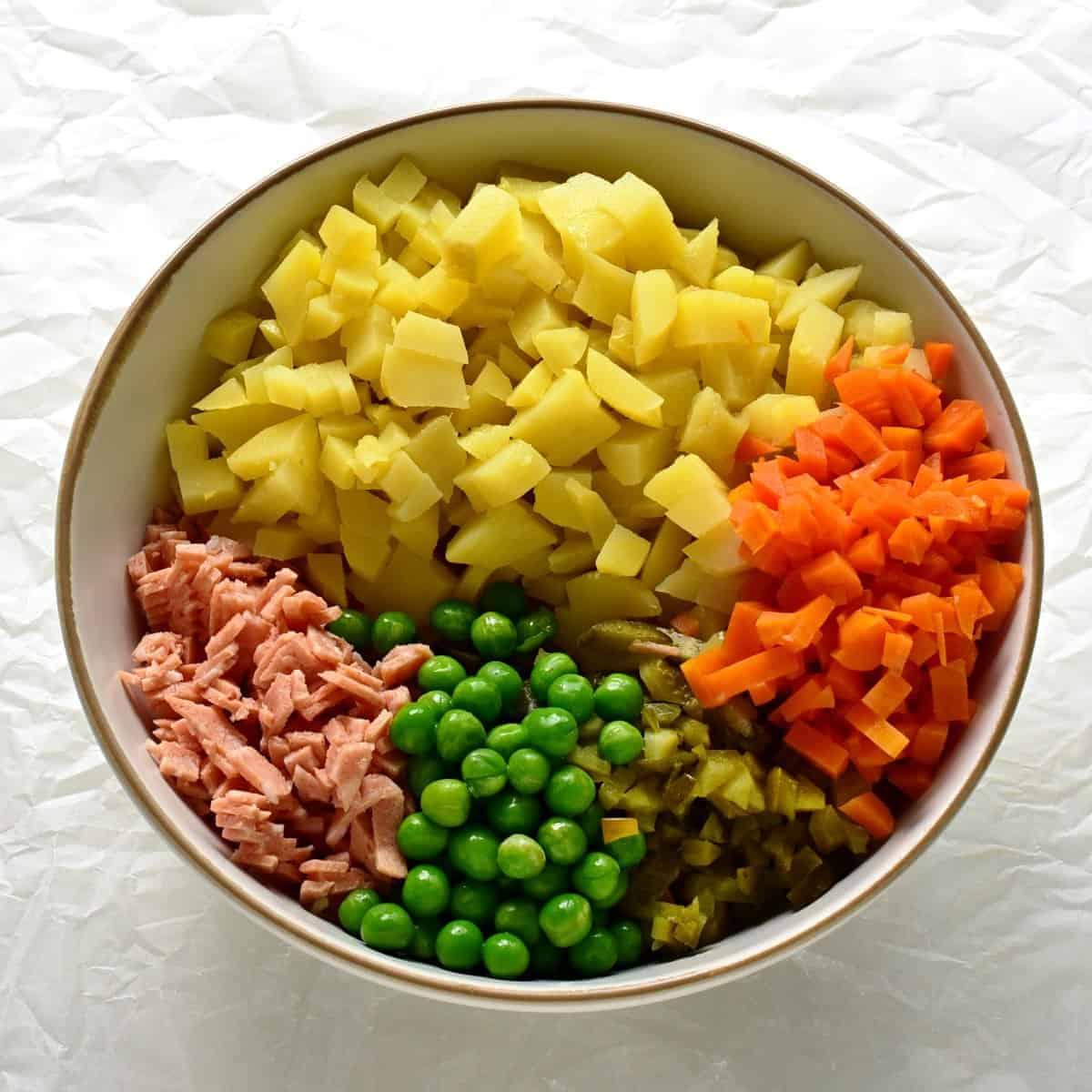ingredients vlašský salát