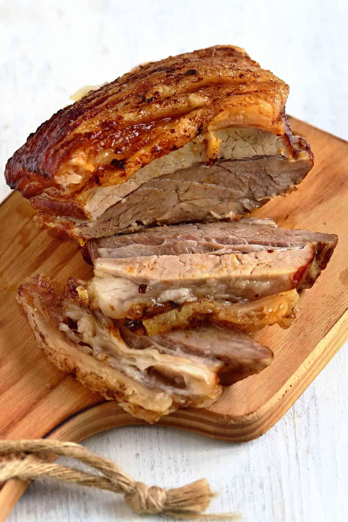 slow roast pork belly czech pečený bůček