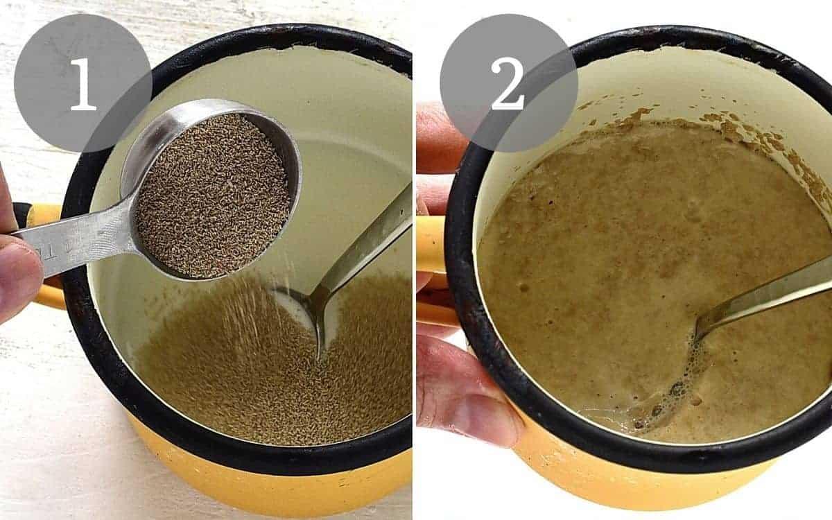 making yeast starter