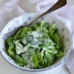 head lettuce with buttermilk dressing czech hlávkový salát s kefírem recipe