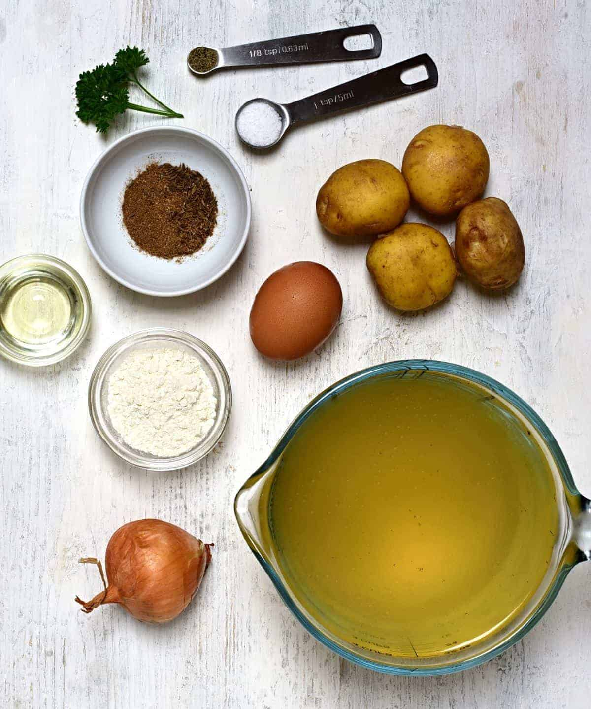 czech caraway soup ingredients