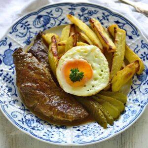 beef slices czech roštěnky recipe