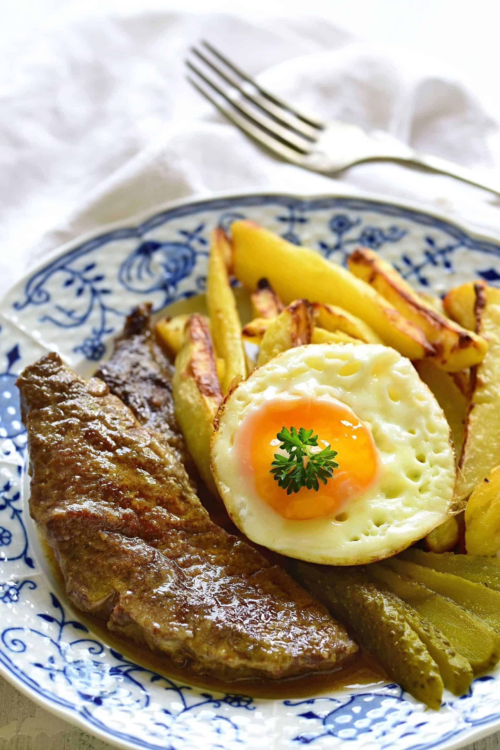 czech dušené roštěnky beef slices