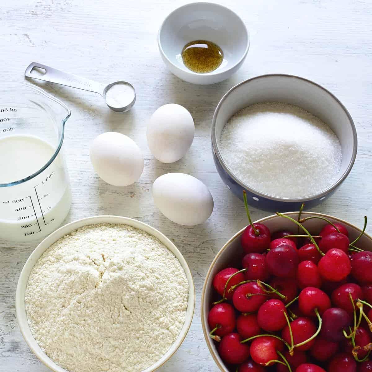 bublanina cake ingredients