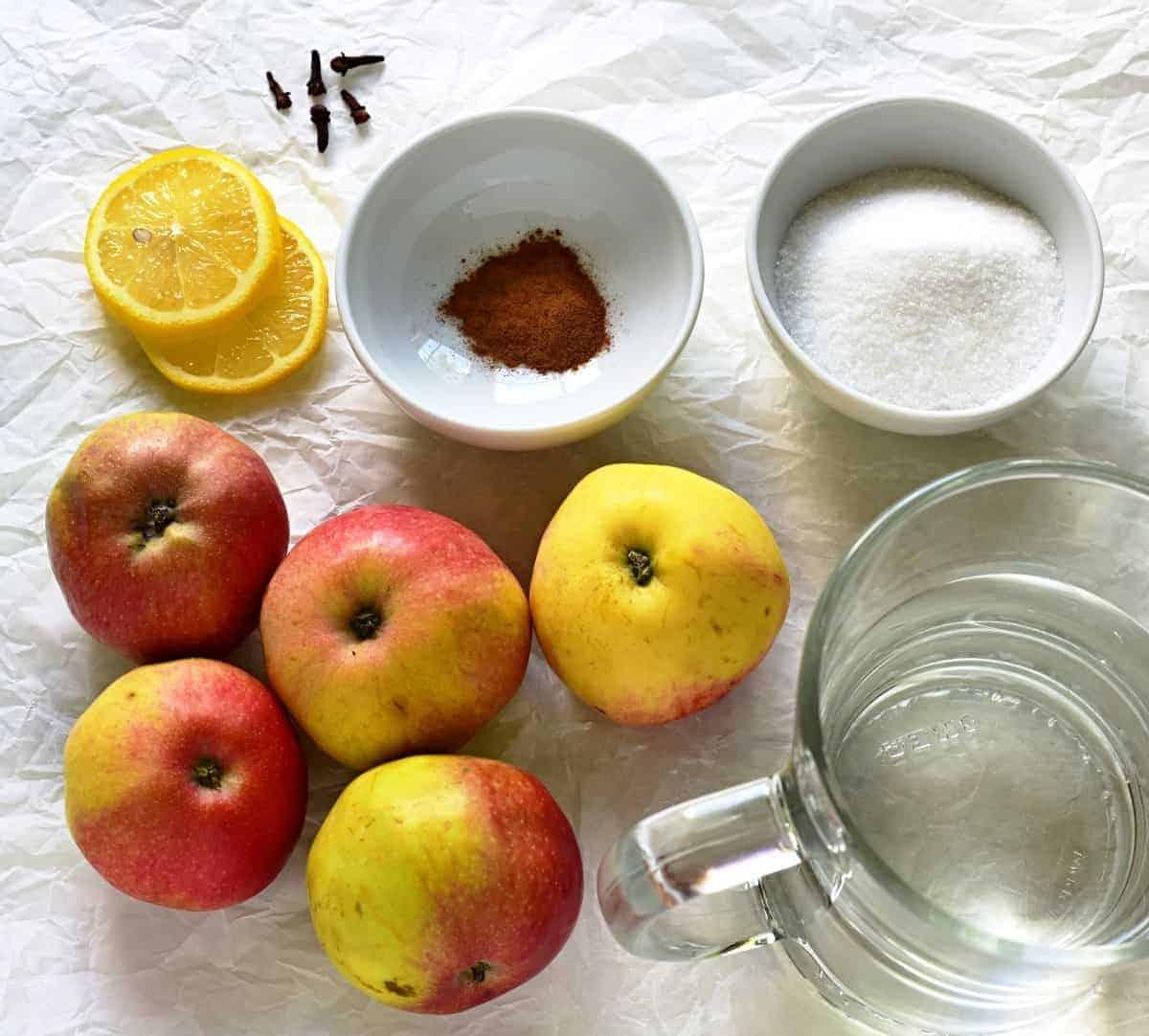 apple compote recipe