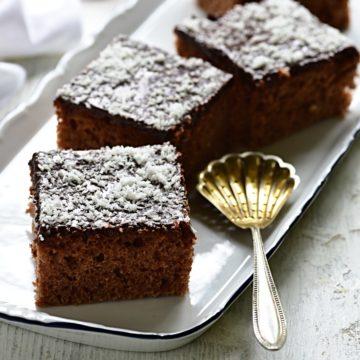 Buttermilk cake Czech kefírová buchta recipe.