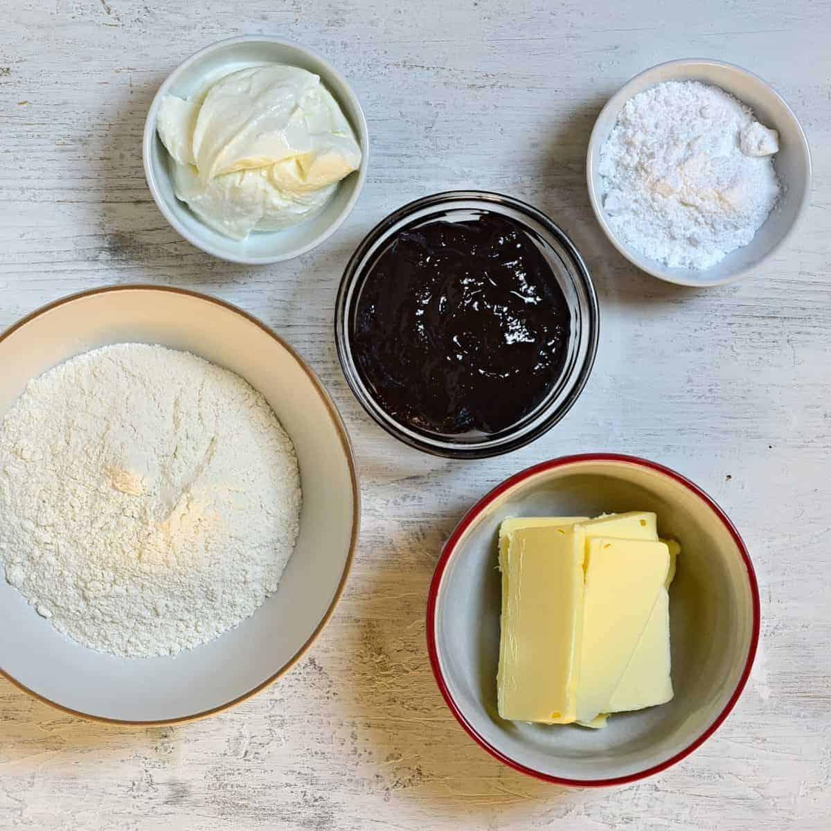 kolacky ingredients