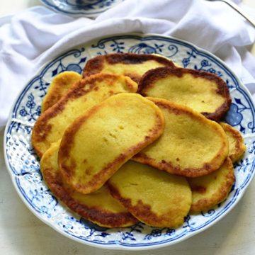 Czech bramborové placky recipe.