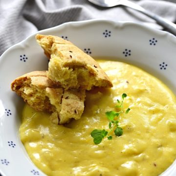 Potato Sauce Czech bramborová omáčka recipe.